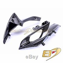 2006 2007 GSX-R 600 750 Carbon Fiber Air Intake Cover Head Cowl Nose Fairing