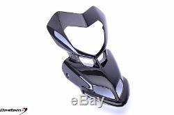 2007-2012 Ducati Hypermotard 1100 796 Carbon Fiber Front Head Cowl Nose Fairing