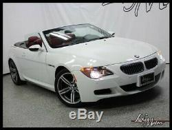2007 BMW M6 CONVERTIBLE Full Leather Pkg Heads-Up Carbon Fiber