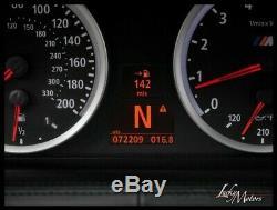 2007 BMW M6 CONVERTIBLE Full Leather Pkg Heads-Up Carbon Fiber