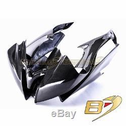 2008-2016 R6 Racing Upper Fairing 100% Carbon Fiber Head Cowl Panel Bodywork