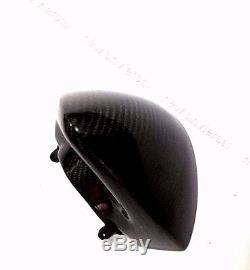 2009-2011 Kawasaki ER6N Carbon Fiber Speedometer Cover Cowl Head Inner Dash