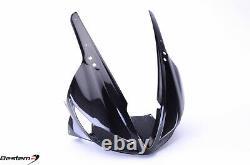 2009-2012 Triumph Daytona 675 Carbon Fiber Head Cowl Upper Front Nose Headlight