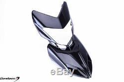 2013-2018 Hypermotard 821 939 Carbon Fiber Front Nose Cowl Head Upper Fairing