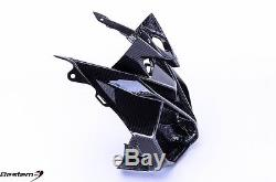 2014-2018 BMW S1000R 100% Carbon Fiber Front Nose Fairing Head Cowl Twill 2017