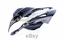 2016-2019 Kawasaki ZX-10R Carbon Fiber Upper Side Panel Head Cowl Side Fairings