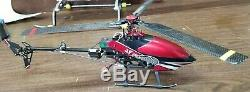 2.4Ghz Walkera 4F200 Tri-Blade Flybarless Head Electric Brushless RC Helicopter
