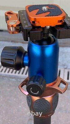 3 Legged Thing LEO carbon fibre Bronze tripod Withlever head