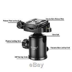668C Professional Portable Carbon Fiber Tripod Monopod&Ball Head for DSLR camera