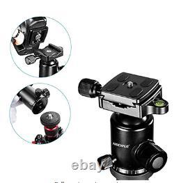 66 inches Portable Carbon Fiber Camera Tripod Monopod With 360 Degree Ball Head