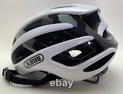 Abus Airbreaker Polar White L 58-62cm Large Bicycle Cycle Road Bike Helmet