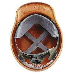 Adjustable Construction Helmet Full Brim Hard Hat Carbon Fiber Impact Head NEW