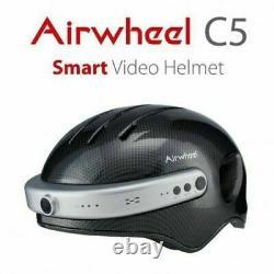 Airwheel C5 Smart Helmet Bluetooth 2k Video Camera Photo Cycle Helmet Carbon XL