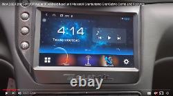 AuCar 9 Android 10 DSP Head Unit Radio 08-17 Maserati Granturismo Carbon Fiber