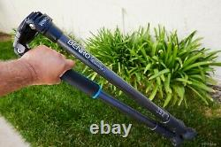 BENRO C3770TN Carbon Fiber Tripod with 75mm bowl and flat base for ball head