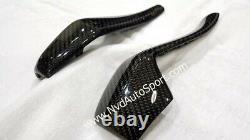BMW i8 Carbon fiber Head rest Seatbelt Cover Cap