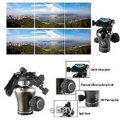 BONFOTO 55 Carbon Fiber Camera Tripod Ball Head for Canon Nikon Sony Camera