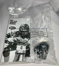 Bell Helmets Full-9 Carbon Fiber Downhill Mountain Bike/BMX Bicycle Size Large L