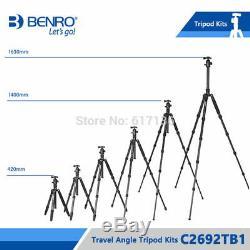 Benro C2692TB1 Tripod Carbon Fiber Tripods Monopod For Camera With B1 Ball Head