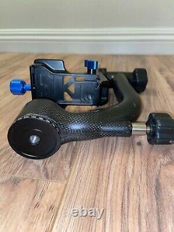 Benro Carbon Fiber Gimbal Head GH2 (used) & Brand New Induro Quick Release Plate