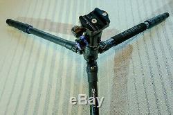 Benro FTA28CV1 Travel Angel Series 2 Carbon Fiber Tripod with V1E Ball Head