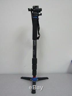 Benro HMMA38CS2H Series 3 Carbon Fiber Hybrid Monopod with S2H Head
