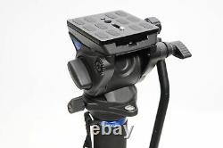 Benro HMMA48CS4H Series 4 Carbon Fiber Hybrid Monopod with S4H Head #093
