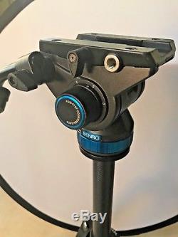 Benro S8 Head with Feisol Carbon Fiber Tripod