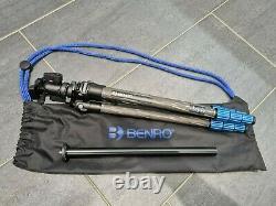 Benro Slim Tall Carbon Fibre Tripod, N00 Ball Head TSL08CLN00 & short column