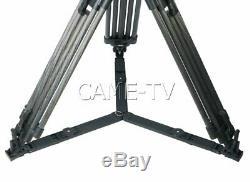 CAME-18T PRO Carbon Fiber Fluid Head Tripod For URSA FS7 Etc