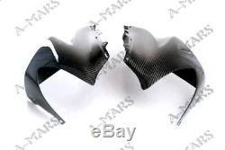 Carbon Fiber Headlight Head Nose Front Fairing For Kawasaki ZX10R 2004-2005