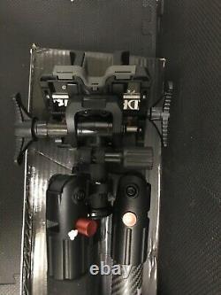 Carbon Fiber gun-riffle-bow stand-BOG Deathgrip Tripod- Stabilized Clamping Head