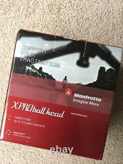 Carbon Fibre Monopod + Manfrotto XPRO Magnesium Ball Head + Calumet Pro Stand