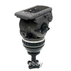 Cartoni G100 Gamma 100mm Ball Base ENG Fluid Head with Telescopic Pan Bar, Suppo