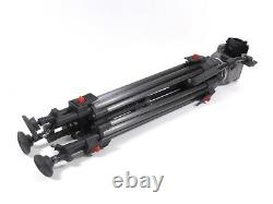 Cartoni Gamma Tripod Head 100mm Carbon Fiber Tripod 100 mm to 35lbs