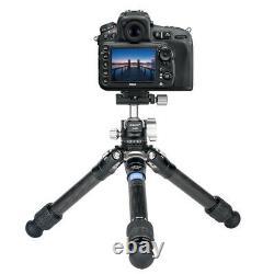 Cavix W222D0C Table-Top/Mini Tripod Carbon Fiber Tripod Camera Tripod Ball Head