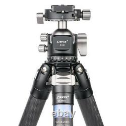 Cavix W324D3C Tripod professional carbon fiber with Ball Head for camera