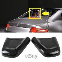 Dry Carbon Fiber For Mazda MX-5 Miata ND Interior Head Restraint Cover L+R