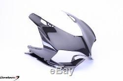 Ducati 899 1199 Panigale 100% Carbon Fiber Head Cowl Nose Fairing Front Upper