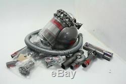 Dyson Cinetic Big Ball Animal Canister Vacuum Carbon Fiber Turbine Head Grey