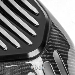 For BMW R NINET R9T 2014-2017 Carbon Fiber Cylinder Head Guards Protector Cover
