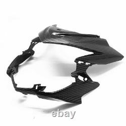 Front Head Light Fairing Cover Carbon Fiber For SUZUKI GSX-S 750 750Z 2018-2020