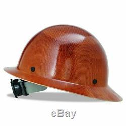 Full Brim Skullgard Hard Hat Carbon Fiber Adjustable Construction Head Helmet
