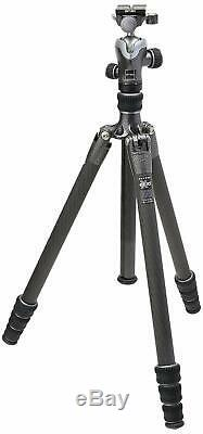Gitzo GK1545T-82TQD Series 1 Traveler Kit with GT1545T 4 Section Tripod & Head