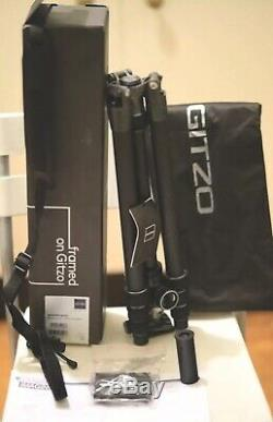 Gitzo GK2545T 82QD Series 2 Travel Carbon Fiber Tripod GH1382QD Ball Head Kit