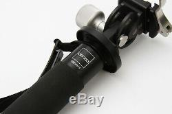 Gitzo GM5561T Traveler 6x Carbon Fiber Monopod + Really Right Stuff MH-01 Head