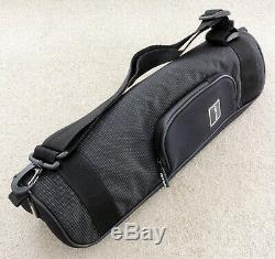 Gitzo GT1543T Series 1 Traveller tripod, GH1780TQD head + GC2202T shoulder bag