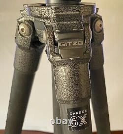Gitzo GT2531LVL Carbon Fiber Tripod with Manfrotto MVH500AH Head & extra parts