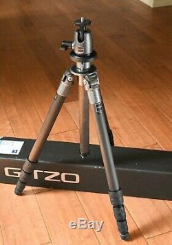 Gitzo Series 2 G1258 Carbon Fiber tripod G1177 Ball Head w Box Nice light & tall