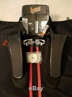 Hans Professional Series Carbon-Fiber(Head & Neck Restraint) Extra Small-Used